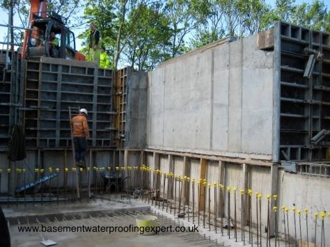 concrete basement Trace Basements