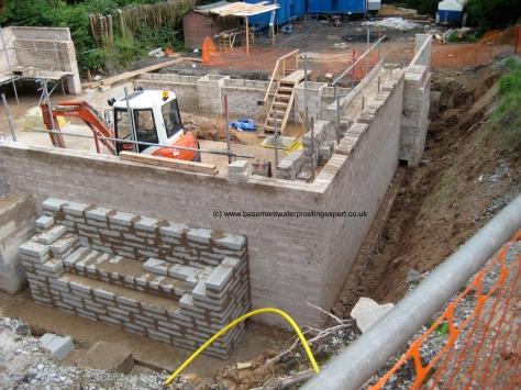 Example open excavation.
