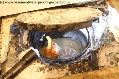basement conversion non-return valve