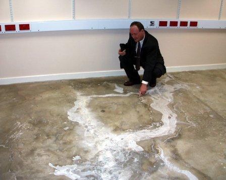How To Screed A Floor >> Tanking floor heave | Basement Waterproofing Expert